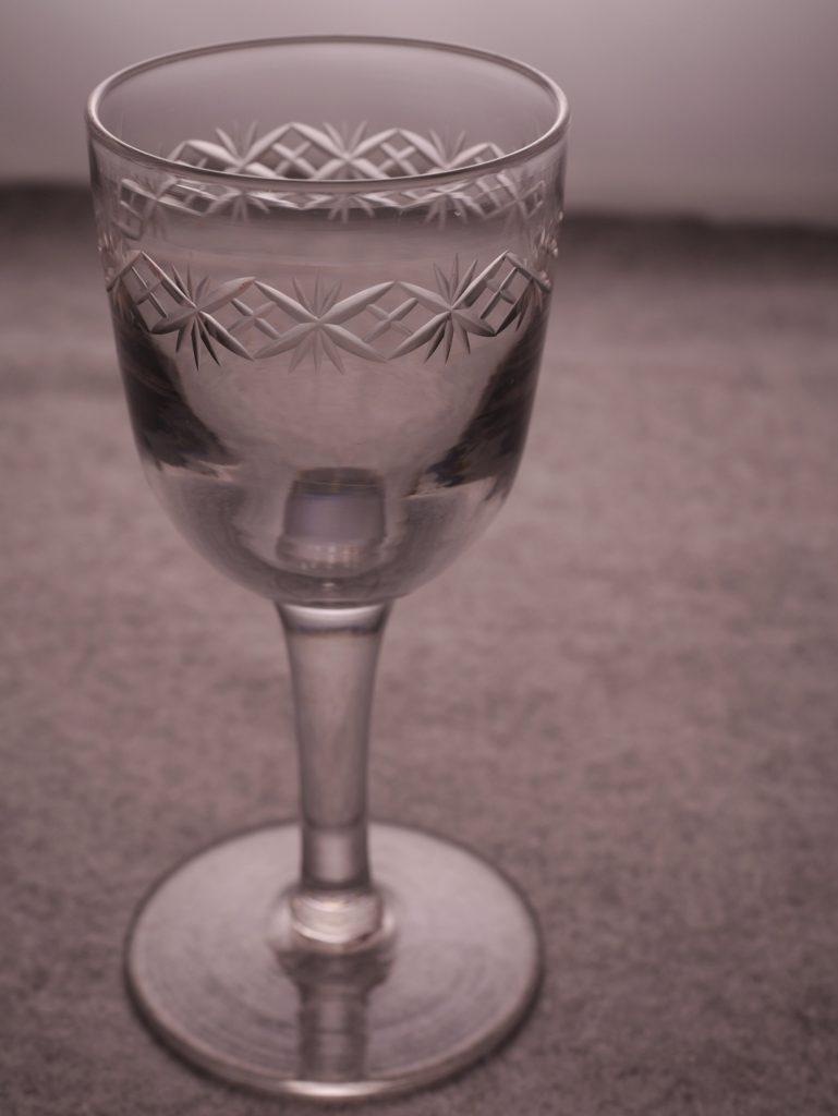 アンティーク ワインガラス