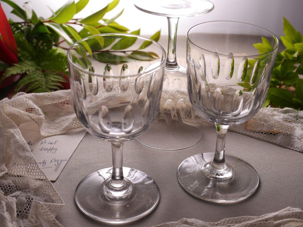 アンティーク ワインガラス セット