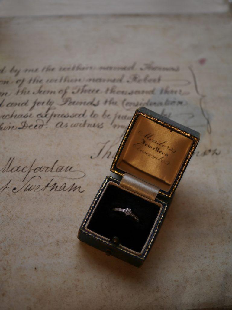 ビンテージ ダイヤモンド  指輪