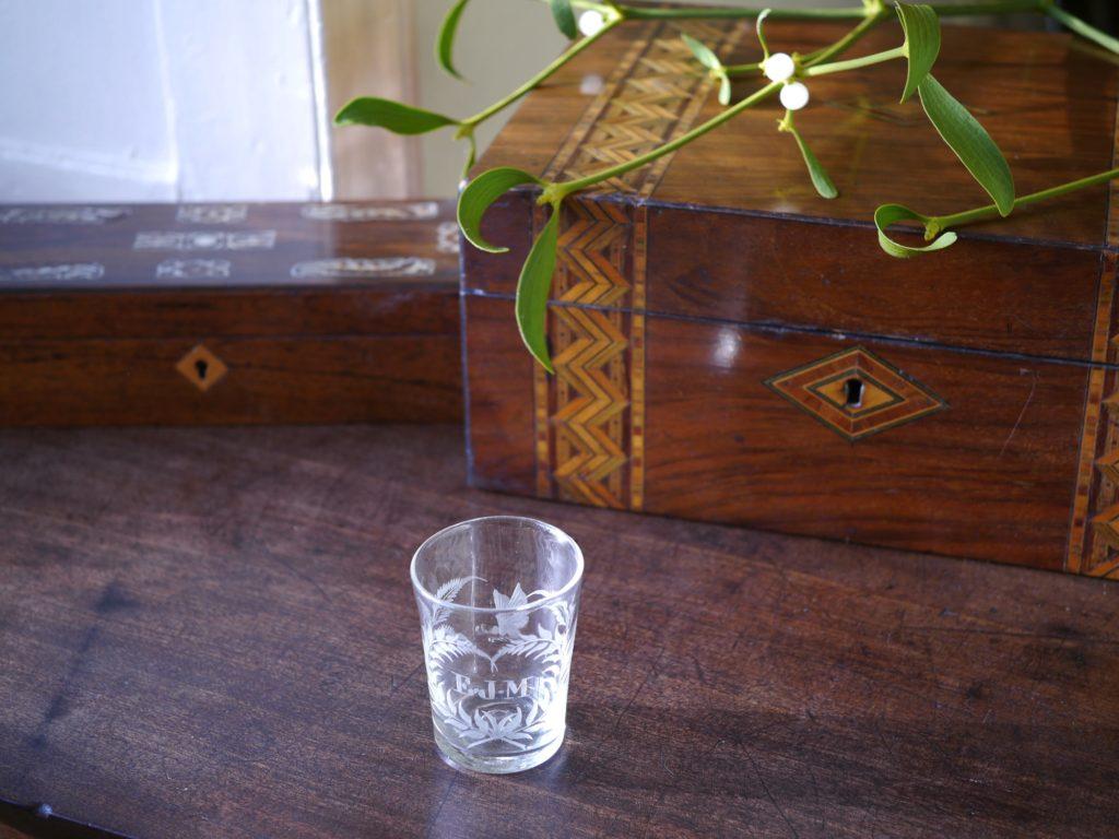 アンティーク カットガラス