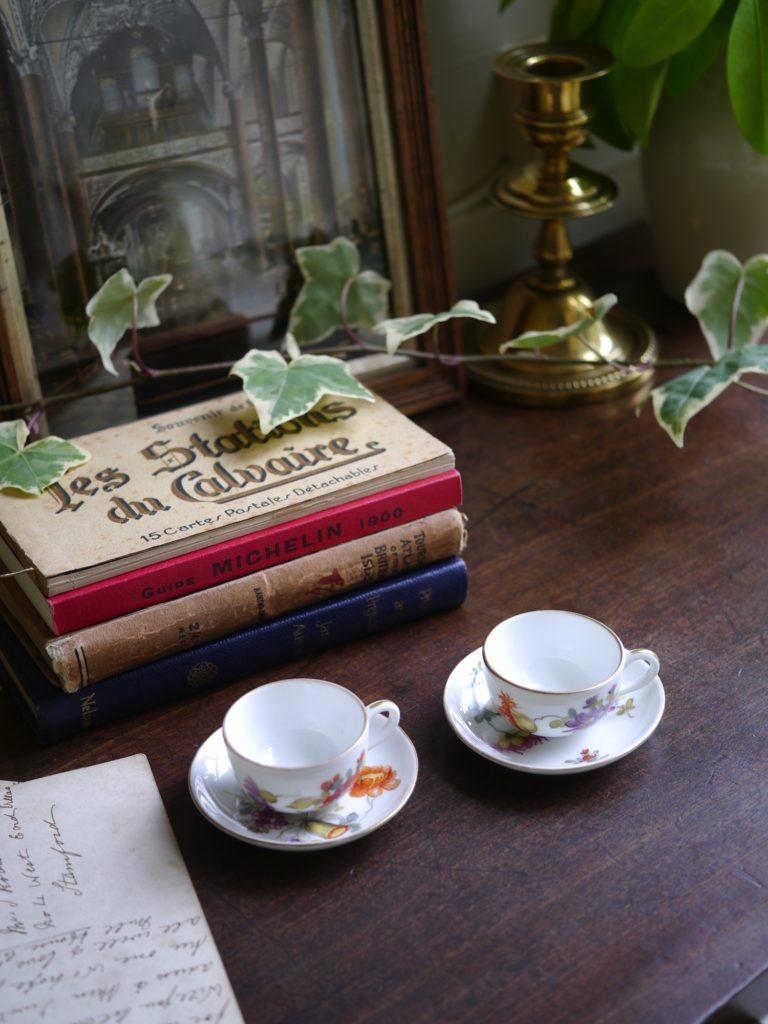 ドレスデン ミニチュア 陶器