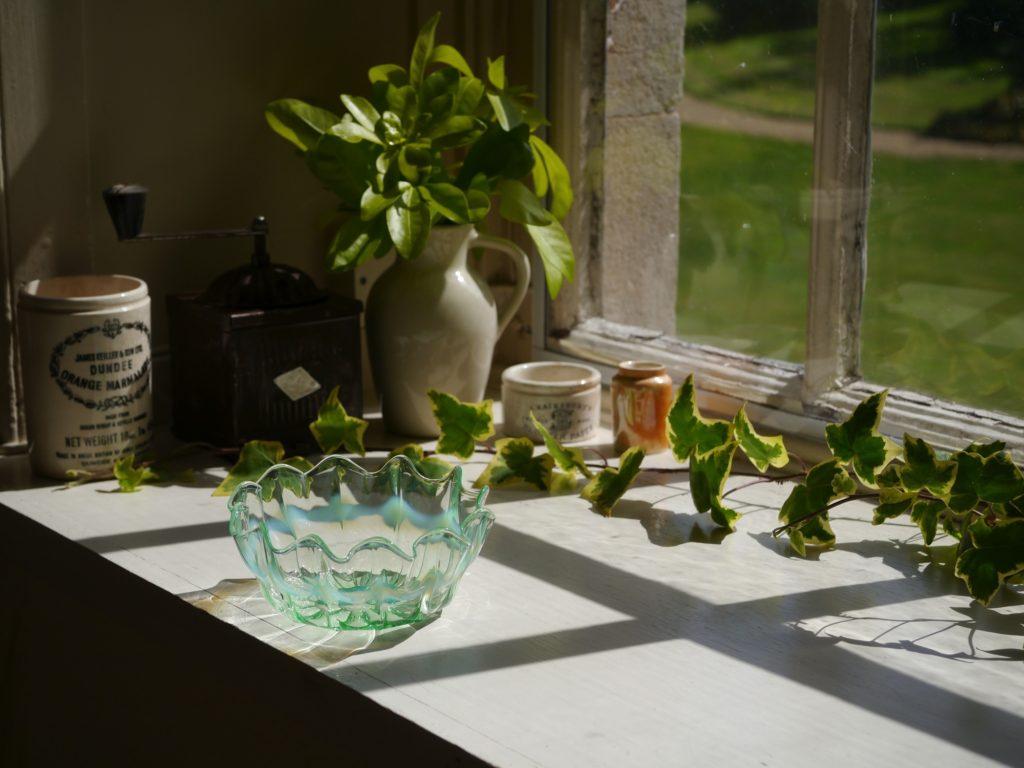 ウランガラス ワセリンガラス
